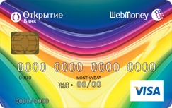 вебмани  карта банка открытие